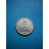 Чехия 1 крона 2002 г.