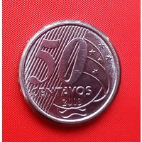 03-24 Бразилия, 50 сентаво 2003 г.