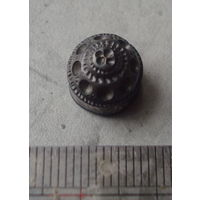 Древняя запонка серебро сохран  ,   распродажа коллекции с 1 рубля, смотрите другие мои лоты !!!