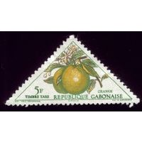 1 марка 1962 год Габон Апельсин порто 40