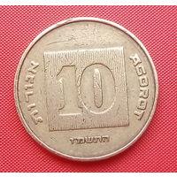 62-41 Израиль, 10 агорот 1987 г.