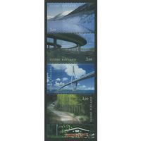 1999 Финляндия 1466-1469C Мосты K 14 200,00евро