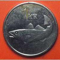 30-30 Исландия, 1 крона 1994 г.
