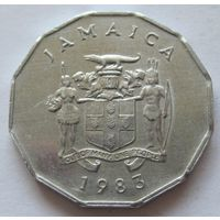 Ямайка 1 цент 1983 - нечастая!