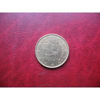 10 центов 2008 год Кипр (д)