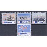 [2035] Самоа 1986. Авиация.Самолеты.Корабли.