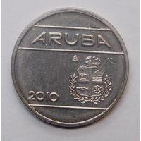 Аруба 25 центов 2010 г.