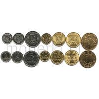Украина 7 монет 1997-2015 годов.