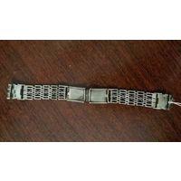 Браслет для часов, 60-е года, 875, Ленинградский ювелирный завод