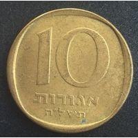 Израиль, 10 агорот 1975