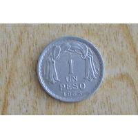 Чили 1 песо 1956