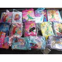 Ассорти Пакеты подарочные Принцессы Дисней ламинированные (от 10 шт по 85 коп)