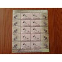 Латвия 2003 Птица малый лист