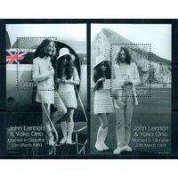 Джон Леннон и Йоко Оно Гибралтар 1999 год 2 блока