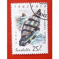 Танзания.  ( 1 марка ) 1992 года.