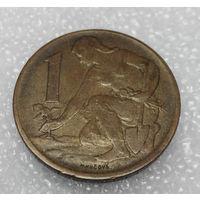 1 крона 1982 Чехословакия #01