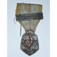 Медаль Франция 2-ая мировая