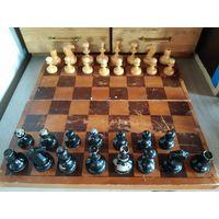 Шахматы деревянные, старые