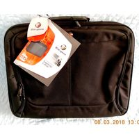 Мужская сумка для ноутбука на 15.4 дюйма, Таргус.