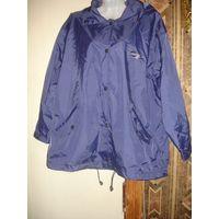 Куртка ветровка дождевик с капюшоном 48-52