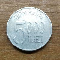 Румыния 5000 лей 2002 _РАСПРОДАЖА КОЛЛЕКЦИИ