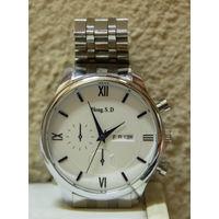 Часы новые мужские кварцевые Hong.S.D Китай