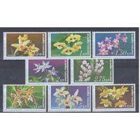 [1564] Таиланд 1978. Флора.Цветы.Орхидеи.