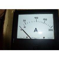 Амперметр Э365,  200А прямого включения