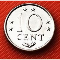 117-18 Антильские острова, 10 центов 1975 г.