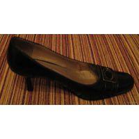 Туфли черные. р-р 35.5-36
