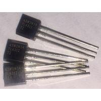 TL431ILP ((цена за 8 шт)) Программируемый источник опорного напряжения. стабилизатор (регулируемый стабилитрон) to-92. TL431