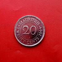 95-17 Маврикий, 20 центов 2004 г.