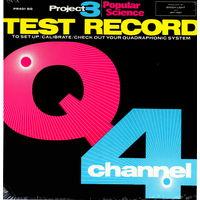 LP 'Quadrophonic Q4 Test Record' (запячатаны)