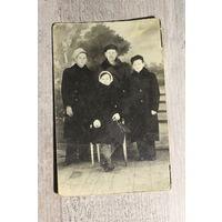 Фото 1943 года, Барановичи, размер 14*9 см.