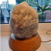Солевая лампа из натуральной соли ингалятор