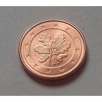 1 евроцент,  Германия 2020 J, UNC