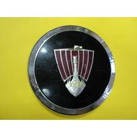 Эмблема логотипа автомобиля (ROVER - 3500 S  PGB  1970 г.в.) диаметр 10.5 см