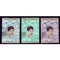 3 марки 1973 год Филиппины 1080-1082