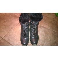 Зимние ботинки 40р