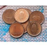 Венгрия 1 форинт. Инвестируй выгодно в монеты планеты!