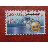 Чехословакия 1986г. Спорт.