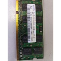 Оперативная память для ноутбука SO-DIMM 2Gb Samsung PC-5300 M470T5663EH3-CE5 DDR2 (907926)