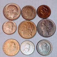 Монеты разных стран мира с рубля. лот 15