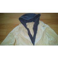 Пиджак байка с капюшоном