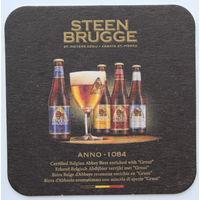 Подставка под пиво Steen Brugge /Бельгия/-3
