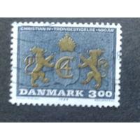 Дания 1988 монограмма короля Христиана 4