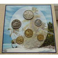 Сейшелы Сейшельские острова Набор 6 монет 1 цент - 5 рупий 2004 - 2010 годы