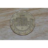 Мексика 50 сентаво 2004