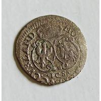 Грош 1764 Эрнст Бирон герцогство Курляндия