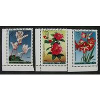 КНДР 1985 Цветы полная серия (А)